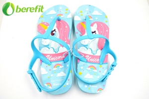 EVA Summer Children's Flip Flops with T Strap
