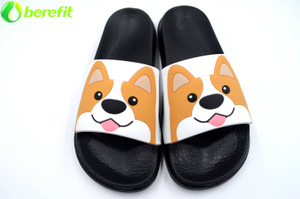 Lady Black Little Puppy EVA Sliders Sandals