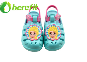 Kids EAV Sandals with Princess Design And Light for Walking