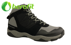 Men Sports Shoes And Men's Basketball Shoes with High Top Upper in Black Design