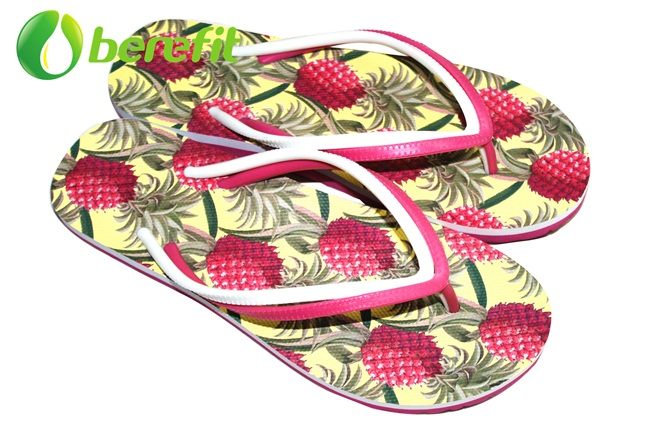 Flip Flops for Women with Arch Support in Hight Quality in EVA Sole And PVC Straps