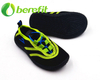 Kids Water Shoes in Sport Style with Canvas And Elastic Upper And PVC Sole