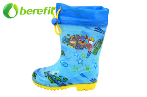 Paw Boy Kids Rain Boots for Boy