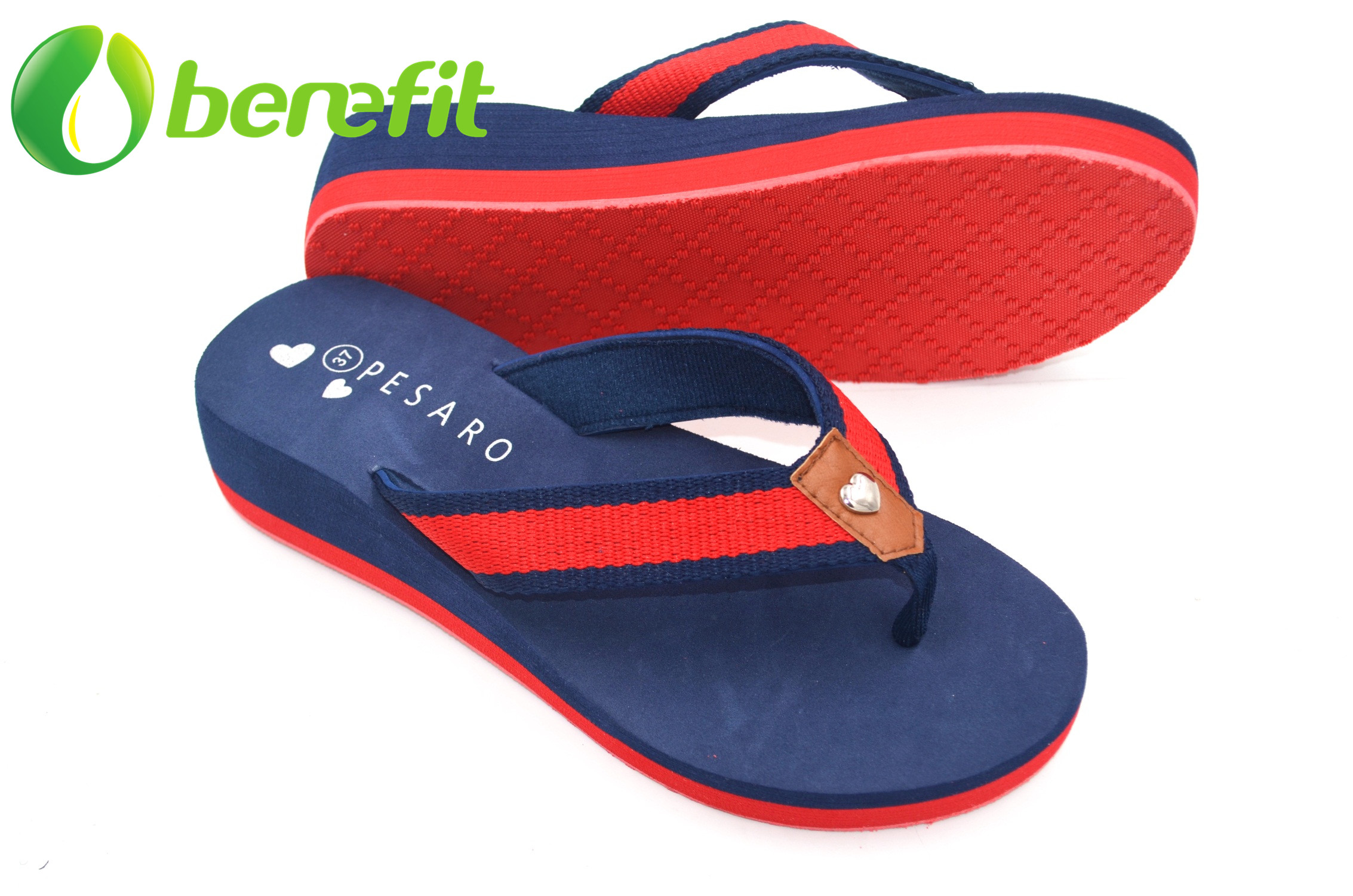Women High Wedge Slippers with Beach Styles And with Arch Support Sole